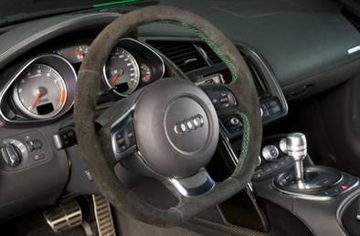 L'Audi R8 transformée en souris verte par MTM