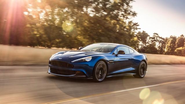 Salon de Los Angeles 2016 : Aston Martin dévoile la dernière Vanquish S