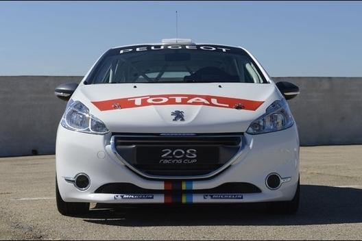 Mondial de Paris 2012 - Peugeot présente la 208 Racing Cup