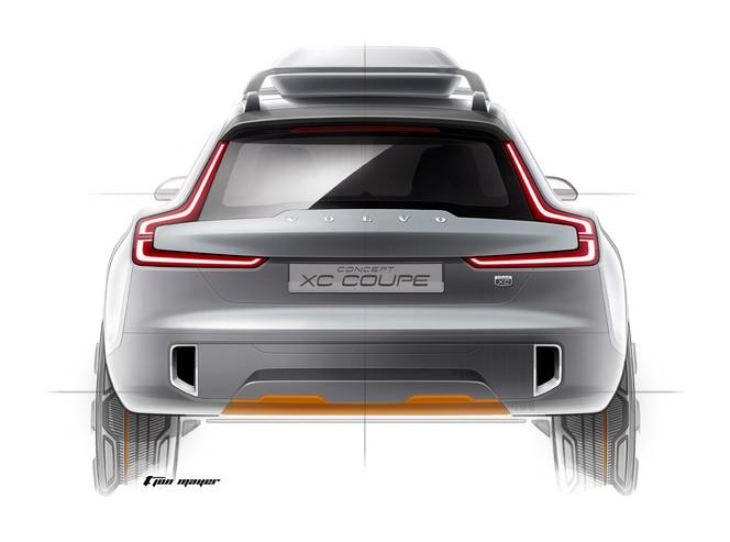 Volvo XC Coupé Concept : deuxième étape