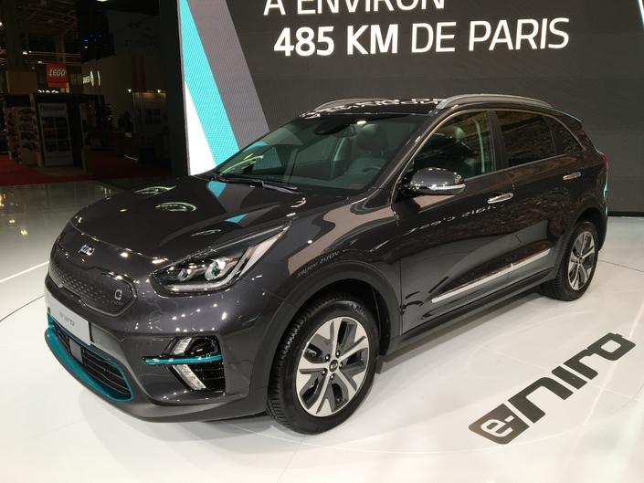 Kia e-Niro : l'e-offensive coréenne continue - En direct du Mondial de l'Auto 2018