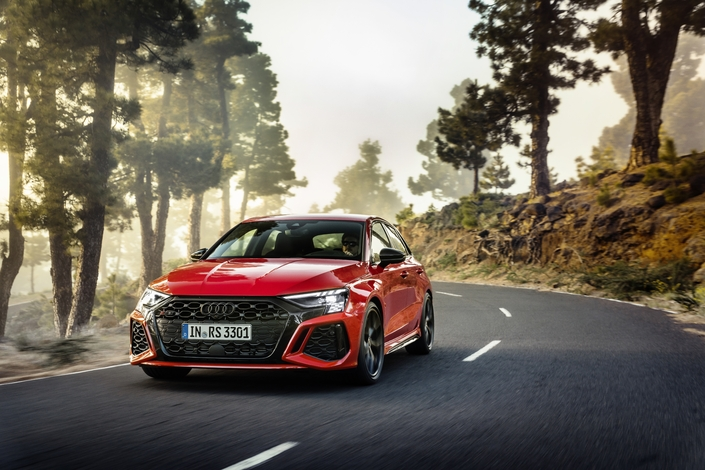 Audi unveils the new RS3