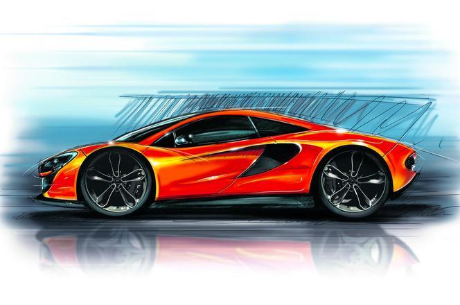 McLaren P13 : premier sketch et caractéristiques techniques