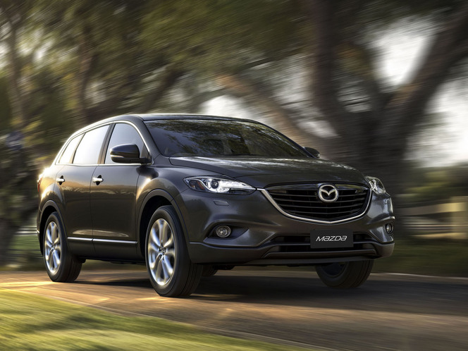 Australian International Motor Show 2012 : Mazda CX-9 restylé
