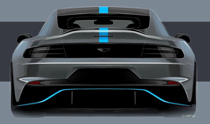 RapidE: Aston Martin lancera sa première électrique en 2019