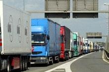 Ducati fait les frais du mouvement des chauffeurs routiers