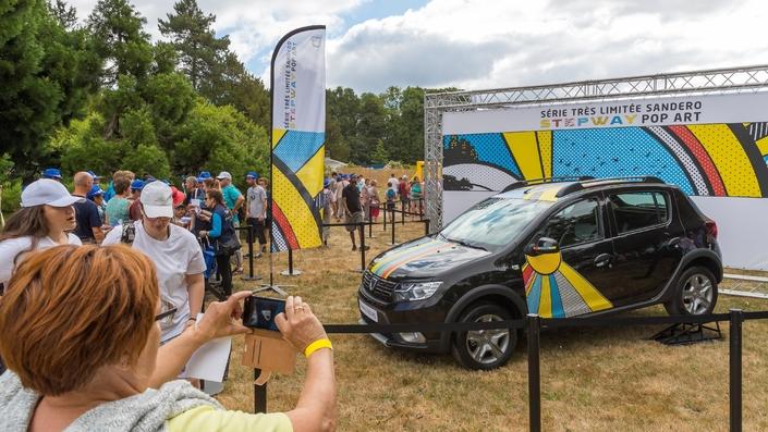 Vidéo - Pique-nique Dacia : une série spéciale et 10000 participants