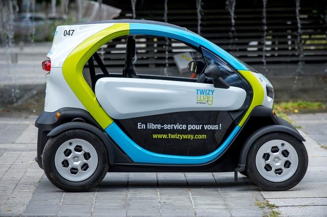 """Twizy Way by Renault: ouverture au public du service de """"mobilité électrique partagée"""""""
