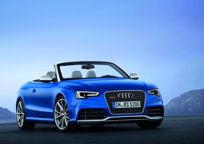 Toutes les nouveautés du Mondial 2012 – Audi RS5 cabriolet : musicale