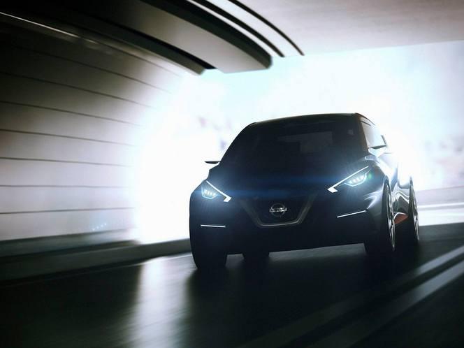 Salon de Genève 2015 - Nissan Sway concept, la remplaçante de la Micra s'annonce