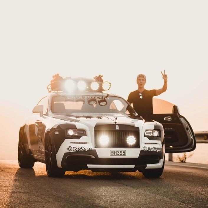 Le skieur Jon Olsson passe de l'Audi RS6 à la Rolls-Royce Wraith