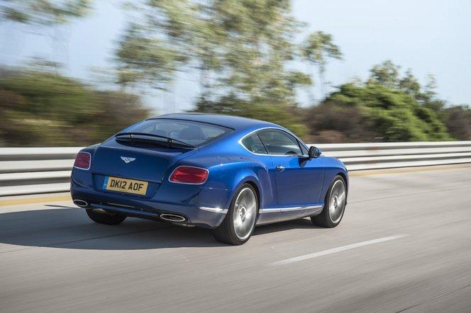 Toutes les nouveautés du Mondial 2012 – Bentley Continental GT Speed : distinguée