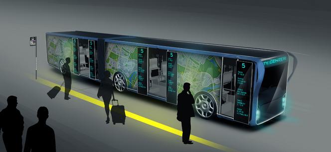Concept : WILLIE, le bus grand écran