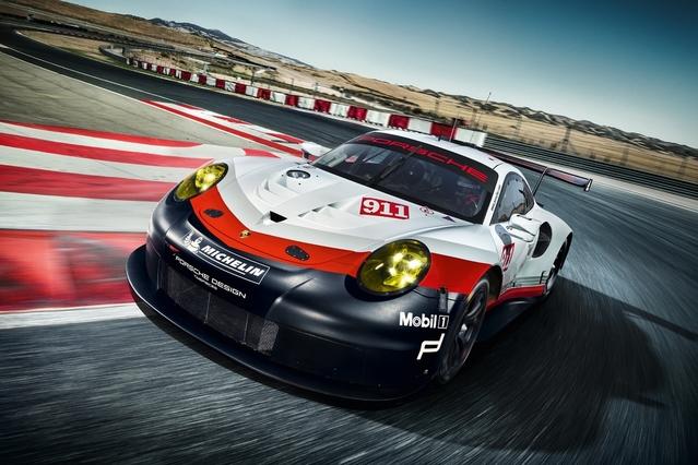 Salon de Los Angeles 2016 : Porsche dévoile la nouvelle 911 RSR