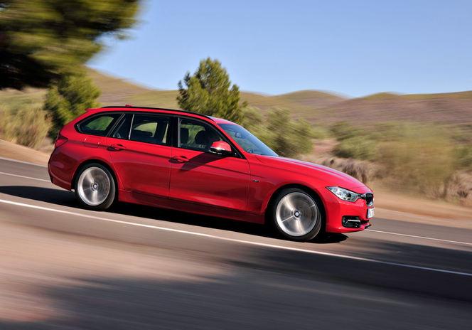 Toutes les nouveautés du Mondial 2012 – BMW Serie 3 Touring : pratique