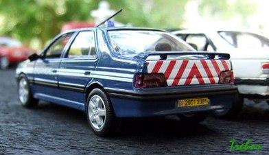 Miniature : 1/43ème - Peugeot 406 T16