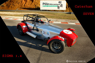Test Track : Caterham Seven Sigma version Coupe: Greffée du coeur 1/3