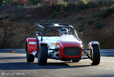 Test Track : Caterham Seven Sigma version Coupe: Greffée du coeur 2/3
