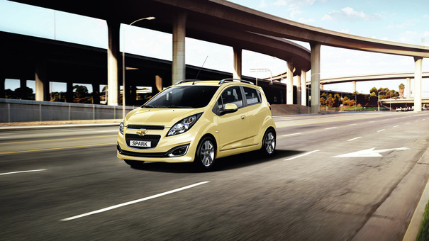 Toutes les nouveautés du Mondial 2012 – Chevrolet Spark restylée : discount
