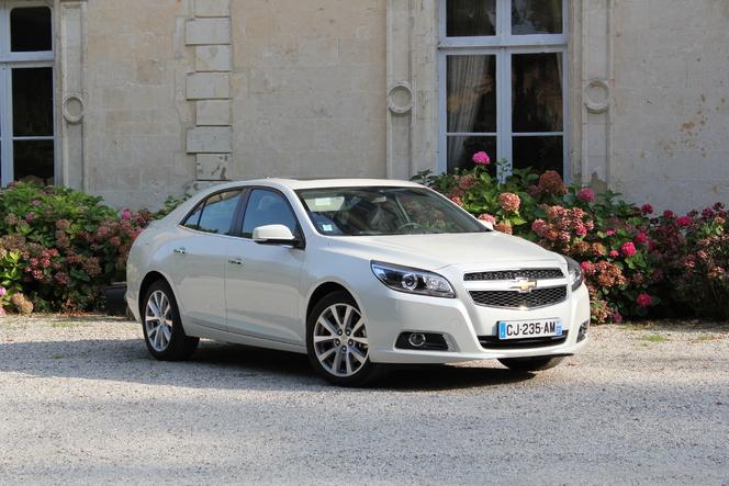 Toutes les nouveautés du Mondial 2012 – Chevrolet Malibu : expressive