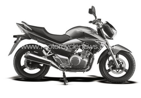 Suzuki prépare une Baby B-King pour 2010, la GSR 250