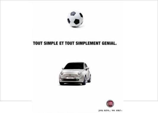 Publicité : simple comme Fiat