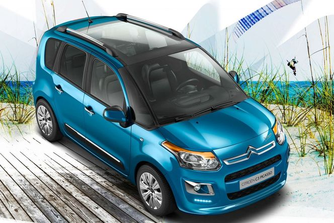 Toutes les nouveautés du Mondial 2012 - Citroën C3 Picasso restylé : transparent
