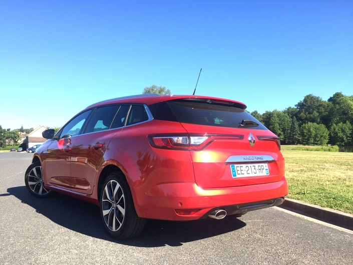 Essai - Renault Mégane 4 Estate dCi 110 : second couteau, mais fine lame
