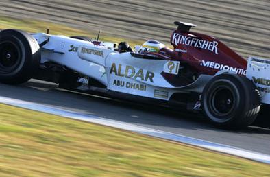 F1 Essais Jerez jour 1: Heidfeld glisse les lisses en tête