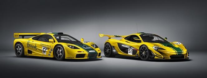 Vidéo : la McLaren P1 GTR rencontre la F1 GTR sur circuit
