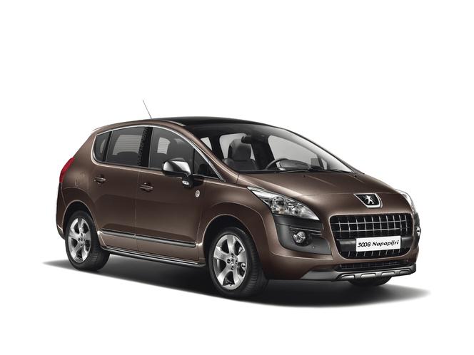 Toutes les nouveautés du Mondial 2012 – Peugeot 3008 NAPAPIJRI : aventurier