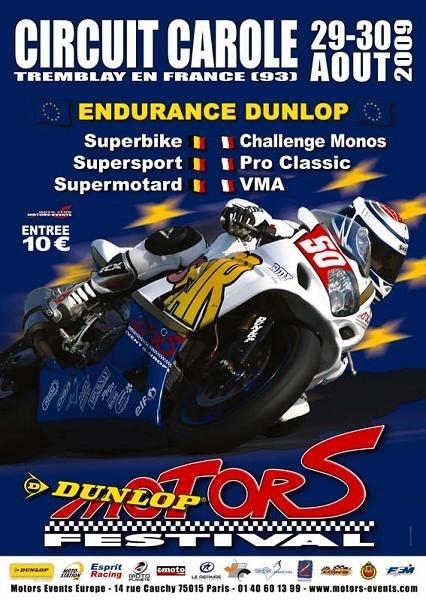 Endurance Dunlop à Carole (93) les 29 & 30 Août 2009