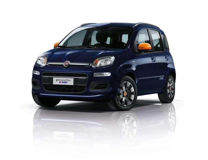 Salon de Genève 2015 - Fiat Panda K-Way, partenariat coloré