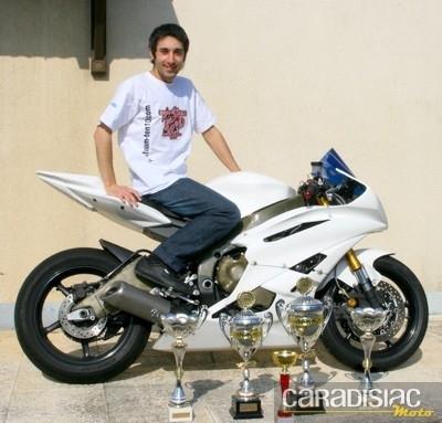 Interview de Christophe Nicolas, champion de France des Rallyes Routiers 2010 catégorie sport.