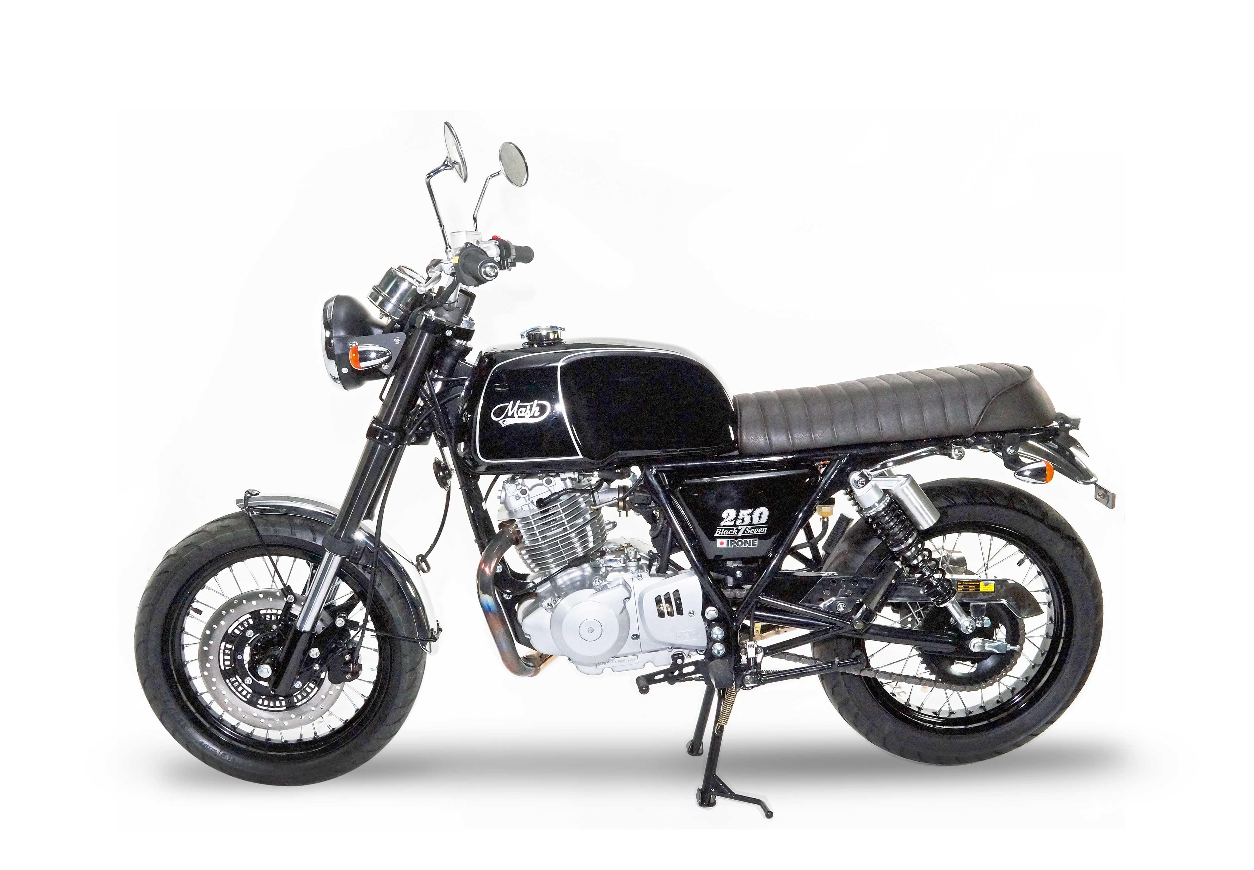 nouveaut moto 2017 mash lance la black seven 250. Black Bedroom Furniture Sets. Home Design Ideas