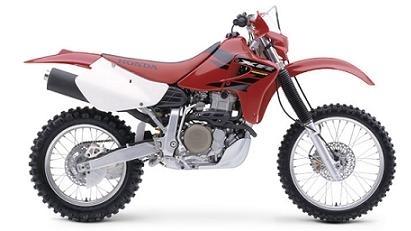 Il n'y aura pas de Honda 650 XR 2008
