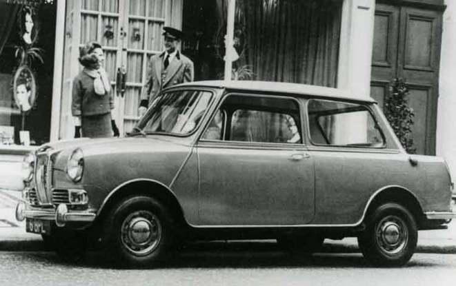 Future Mini Riley: la Mini 5 portes
