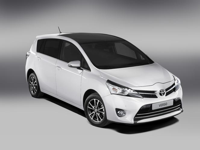 Toutes les nouveautés du Mondial 2012 – Toyota Verso : modernisé
