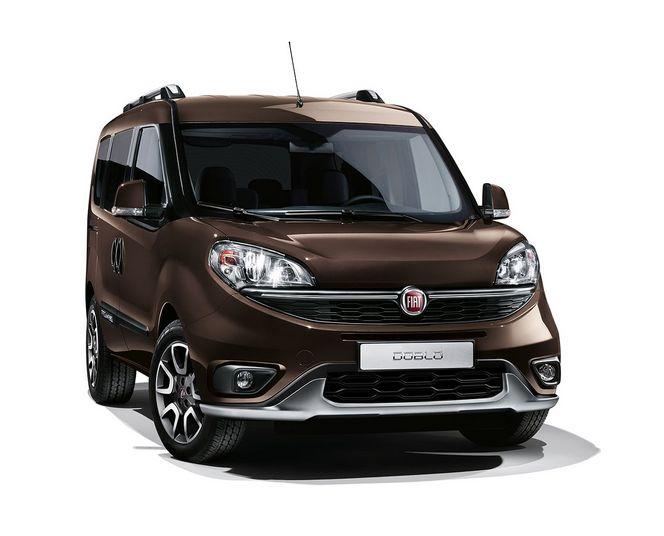 Salon de Genève 2015 - la Fiat Doblò se convertit au Trekking