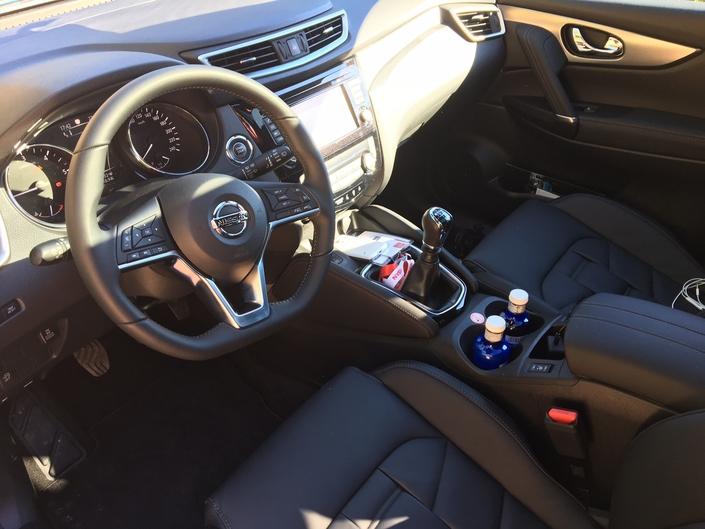 Nissan Qashqai restylé : les premières images de l'essai en live