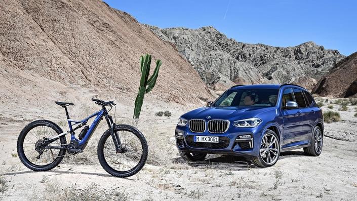 BMW : un VTT pour aller avec le nouveau X3
