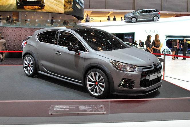 Toutes les nouveautés du Mondial 2012 - Citroën DS4 Racing : furieuse