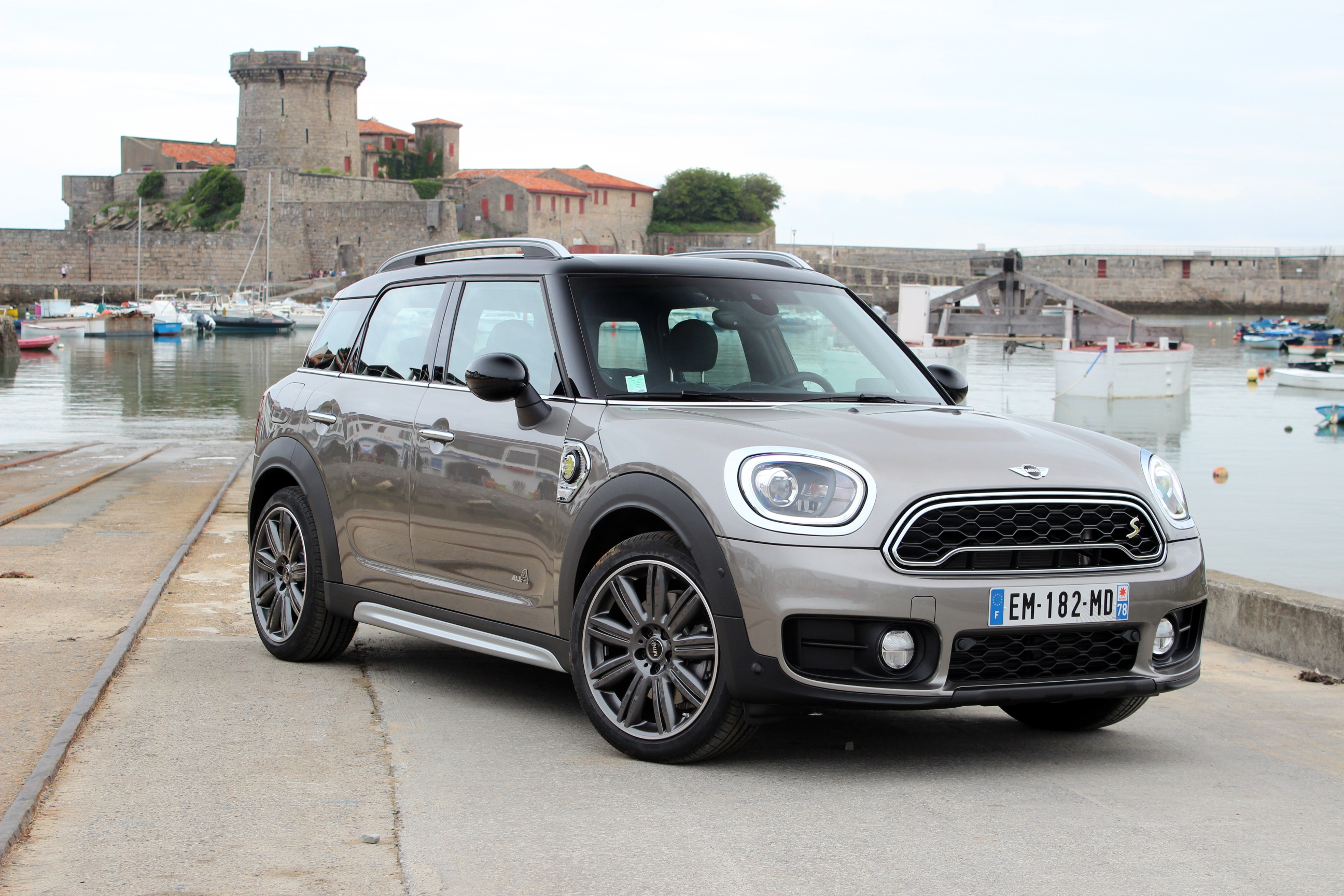 essai mini countryman s e courant alternatif