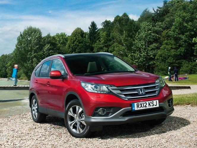 Toutes les nouveautés du Mondial 2012 - Honda CR-V : classe