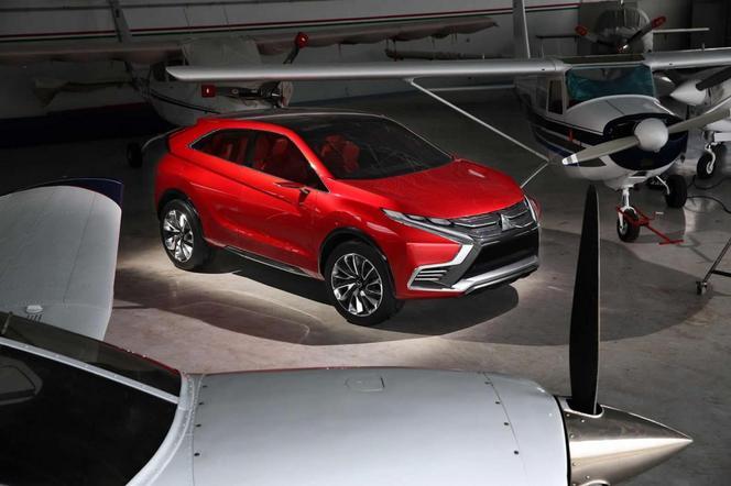 Salon de Genève 2015 - Mitsubishi Concept XR-PHEV II, revirement réaliste (ajout photos)