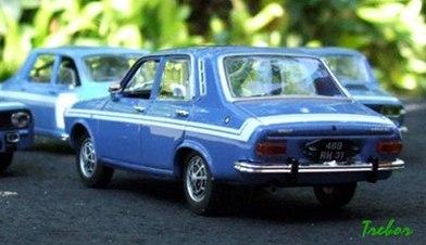 Miniature : 1/43ème - Renault R12 Gordini TL