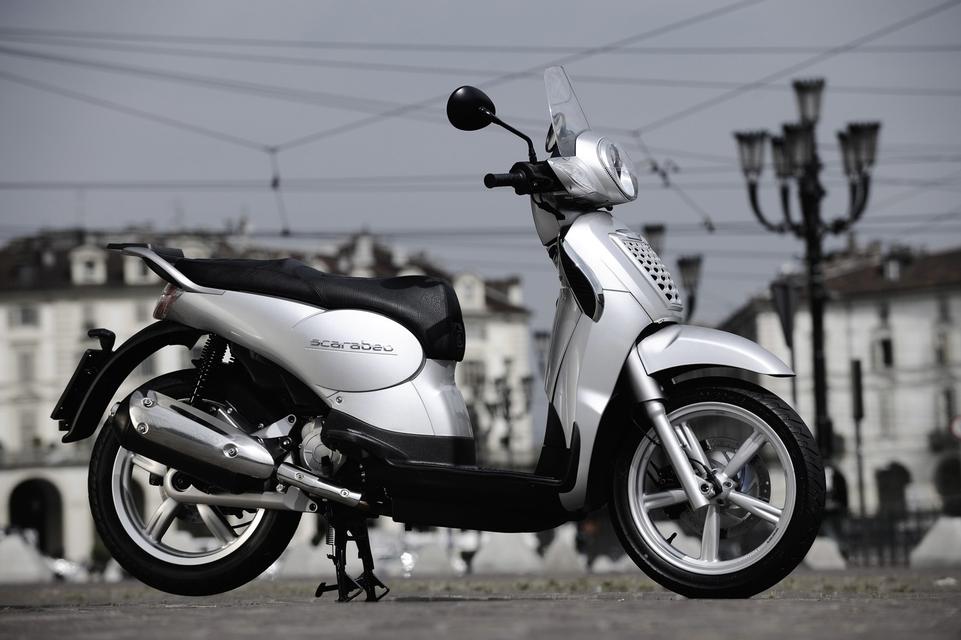 Nouveautés Scooters : La gamme 2009 Aprilia Scarabeo