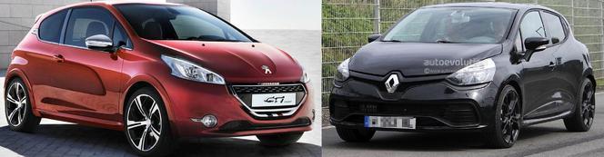 Match du Mondial : Renault Clio 4 RS ou Peugeot 208 GTI ?