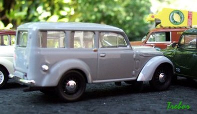 Miniature : 1/43ème - Renault Dauphinoise
