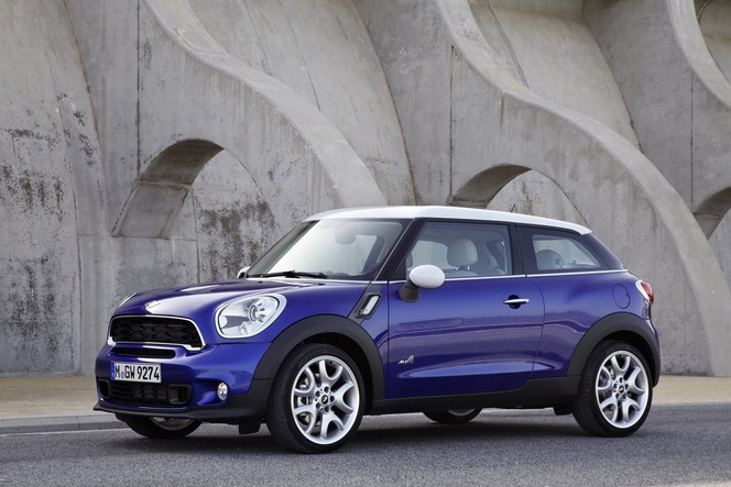 Toutes les nouveautés du Mondial 2012 - Mini Paceman : 4x4 coupé